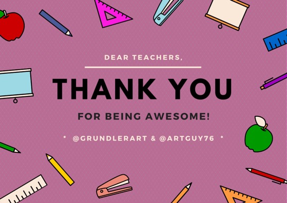 Teacher Appreciation Week, Education Closet