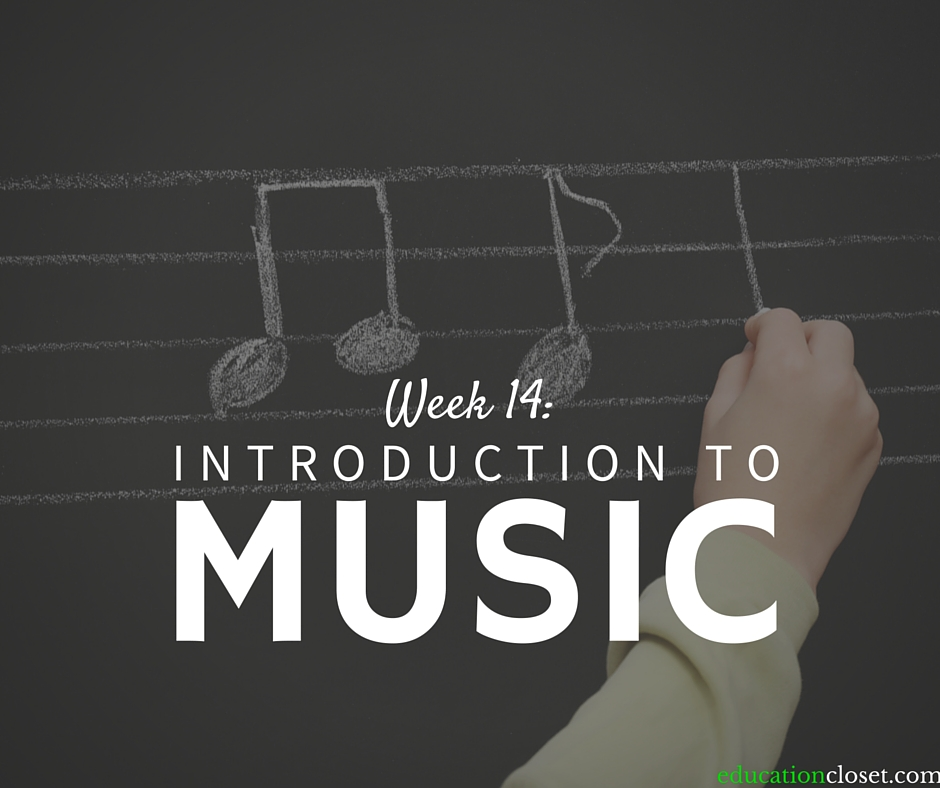 Week 14: Introduction to Music