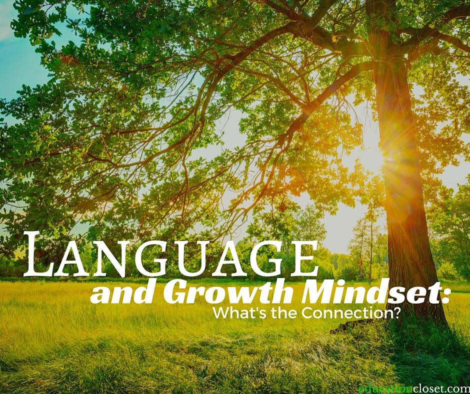 language growth mindset, Education Closet