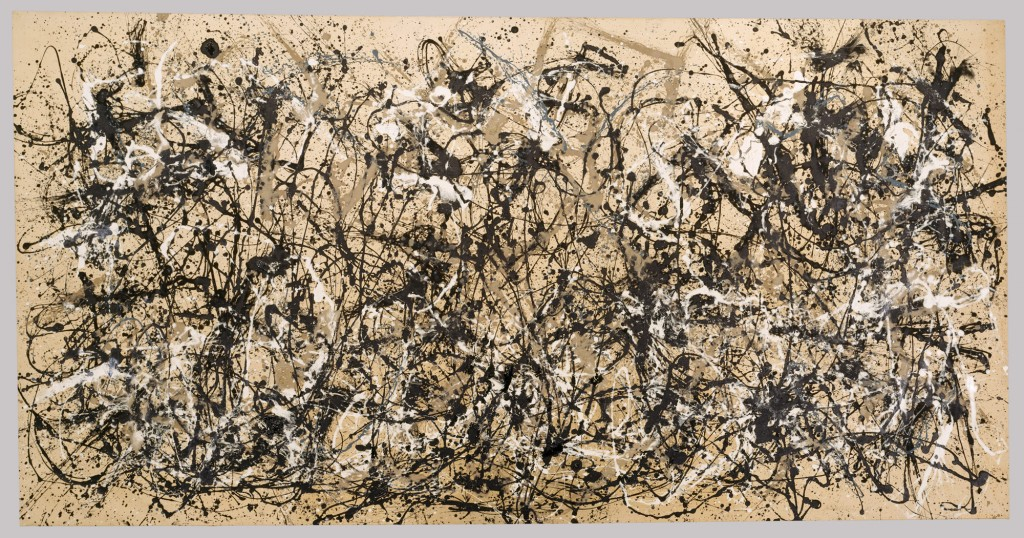 Jackson Pollock, Autumn Rhythm (1950), abstract painting