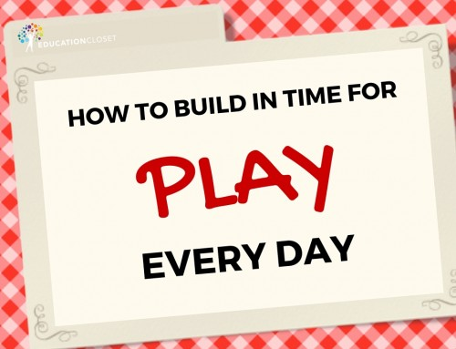 How to Build in Time for Play Everyday