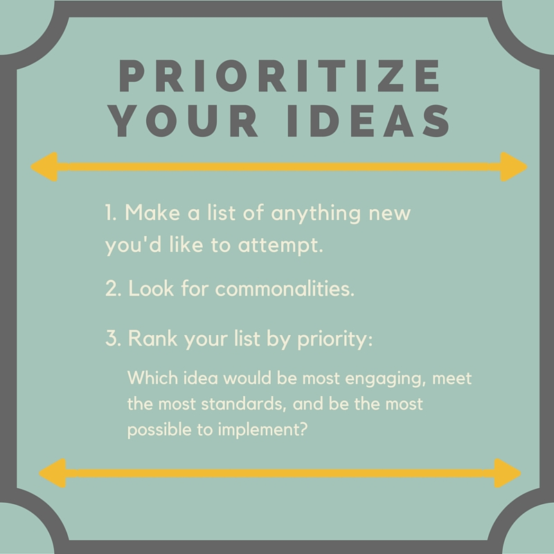 What To Do With An Overload of Ideas, Education Closet