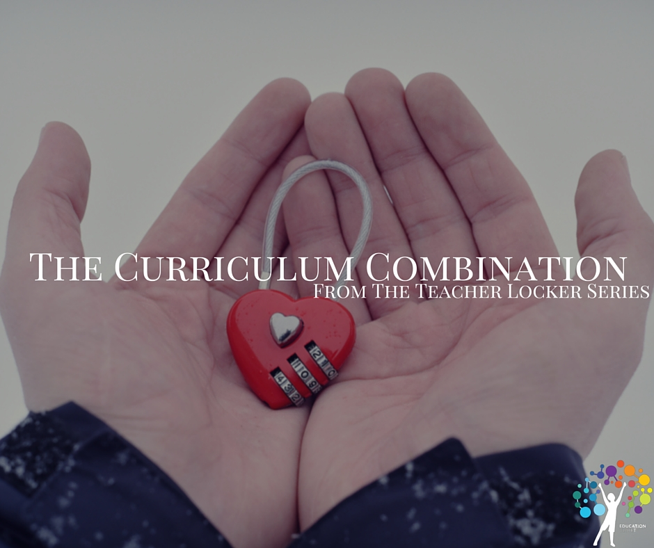 The Curriculum Combination from The Teacher Locker Series, Education Closet