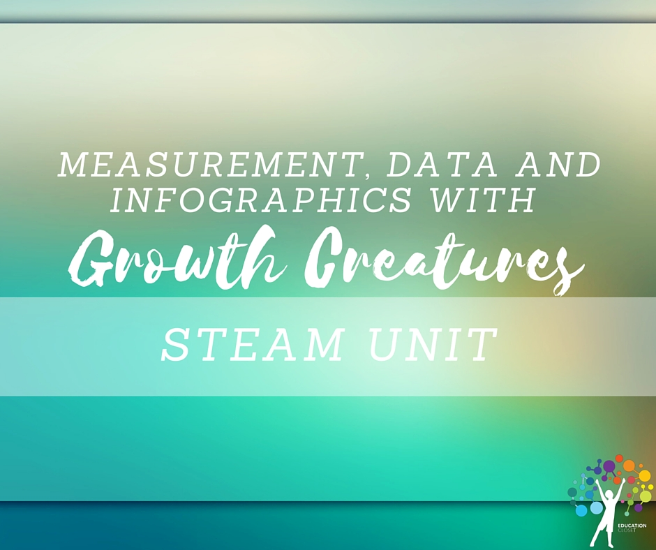 Measurement, Data, and Infographics with Growth Creatures, Education Closet