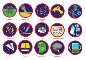 Skill Badges, Education Closet