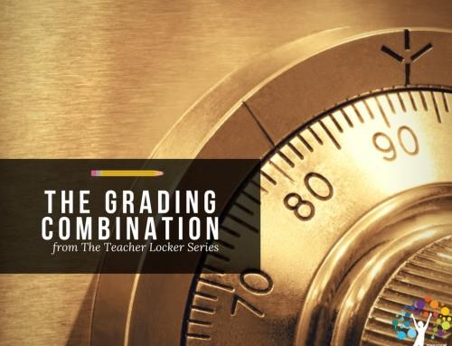 The Grading Combination from The Teacher Locker Series