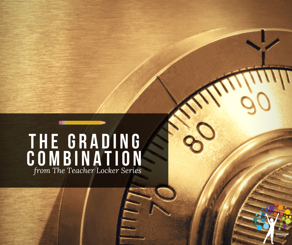 The Grading Combination from The Teacher Locker Series, Education Closet
