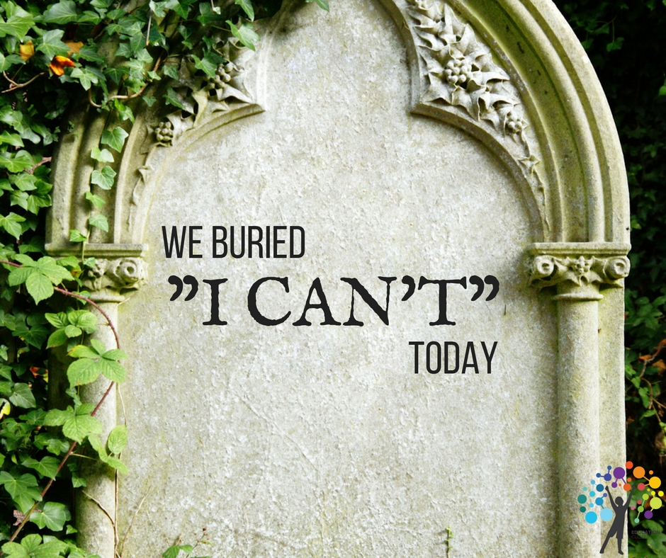 "Creative Risks, Why We Burried ""I Can't"" Today, Education Closet"