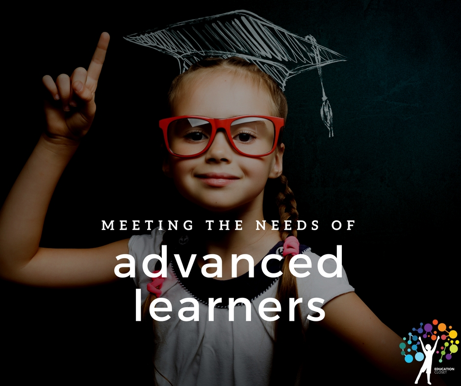 Meeting the Needs of Advanced Learners, Education Closet