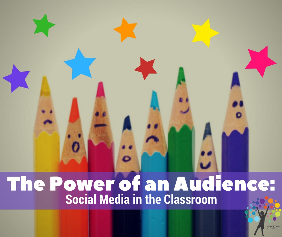 Social Media in the Classroom, The Power Of Audience, Education Closet