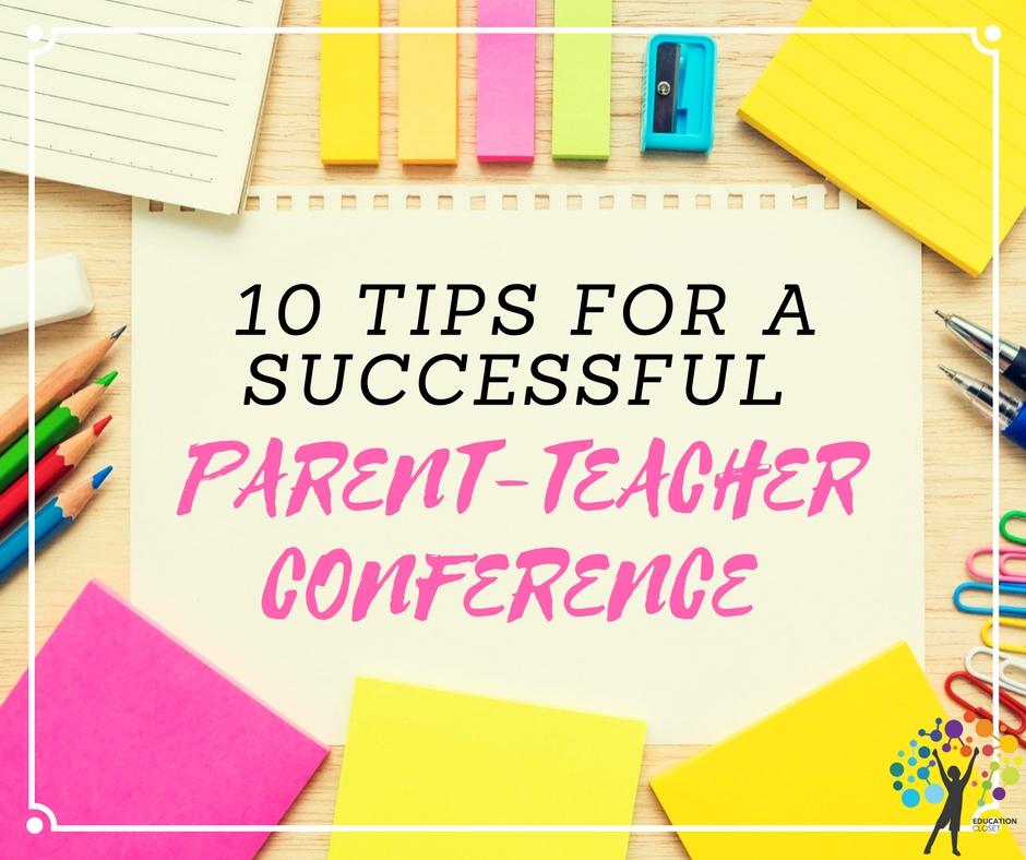 Parent-Teacher Conference, Education Closet