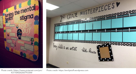 Bulletin board ideas, Education Closet