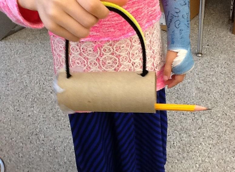 pencil holder, STEAM art design, Education Closet
