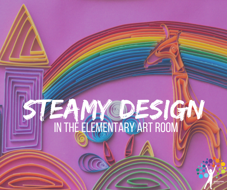STEAM art design, Education Closet
