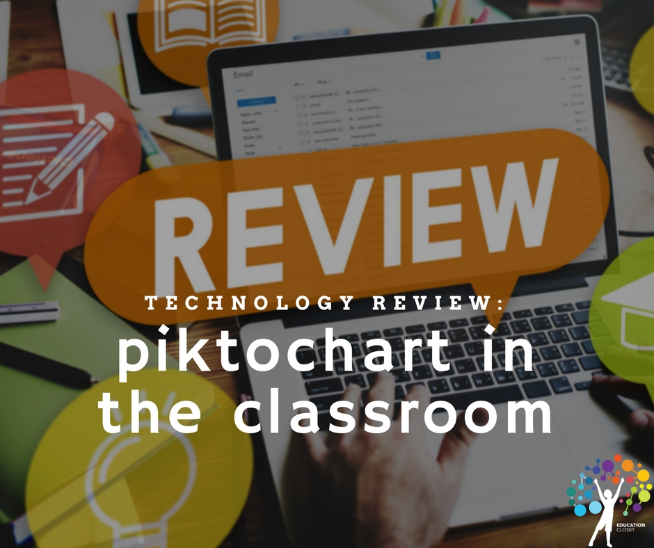 Piktochart in the classroom, Education Closet