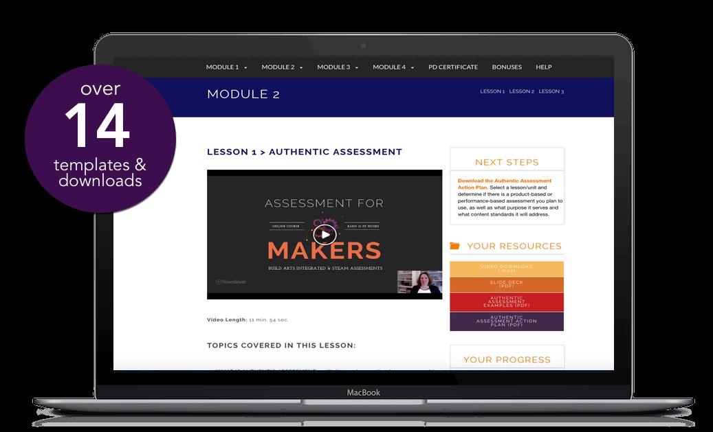 assessment for learning laptop