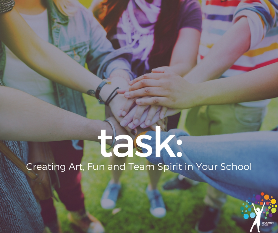 Creating Art, Fun and Team Spirit In Your School, Education Closet