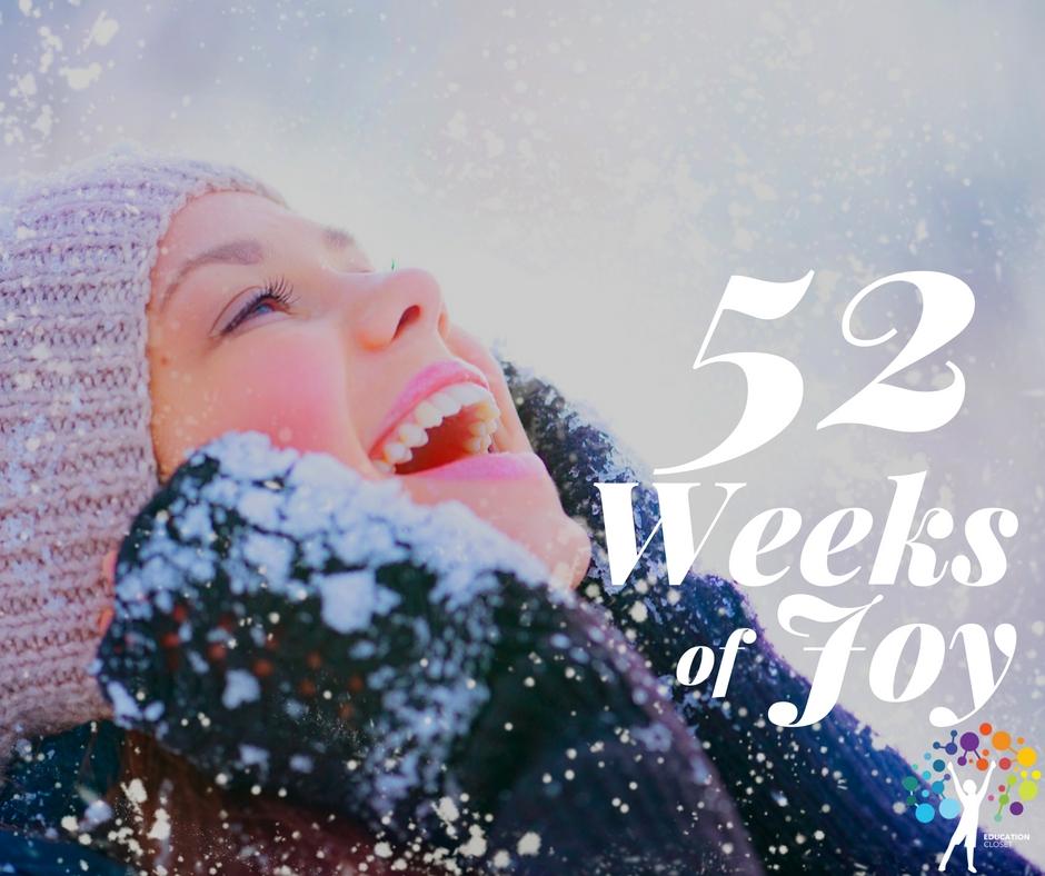 52 Weeks Of Joy, New Year's Resolutions, Education Closet