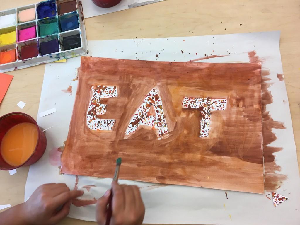 student choice, 5th grade artist, Education Closet