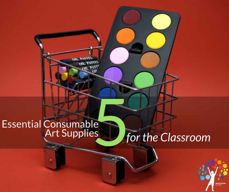 5 Essential Consumable Art Supplies for the Classroom