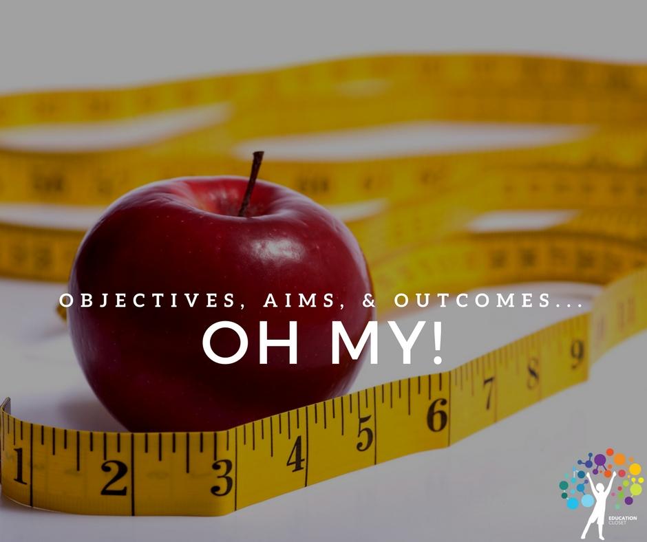 Measurable Objectives | Education Closet
