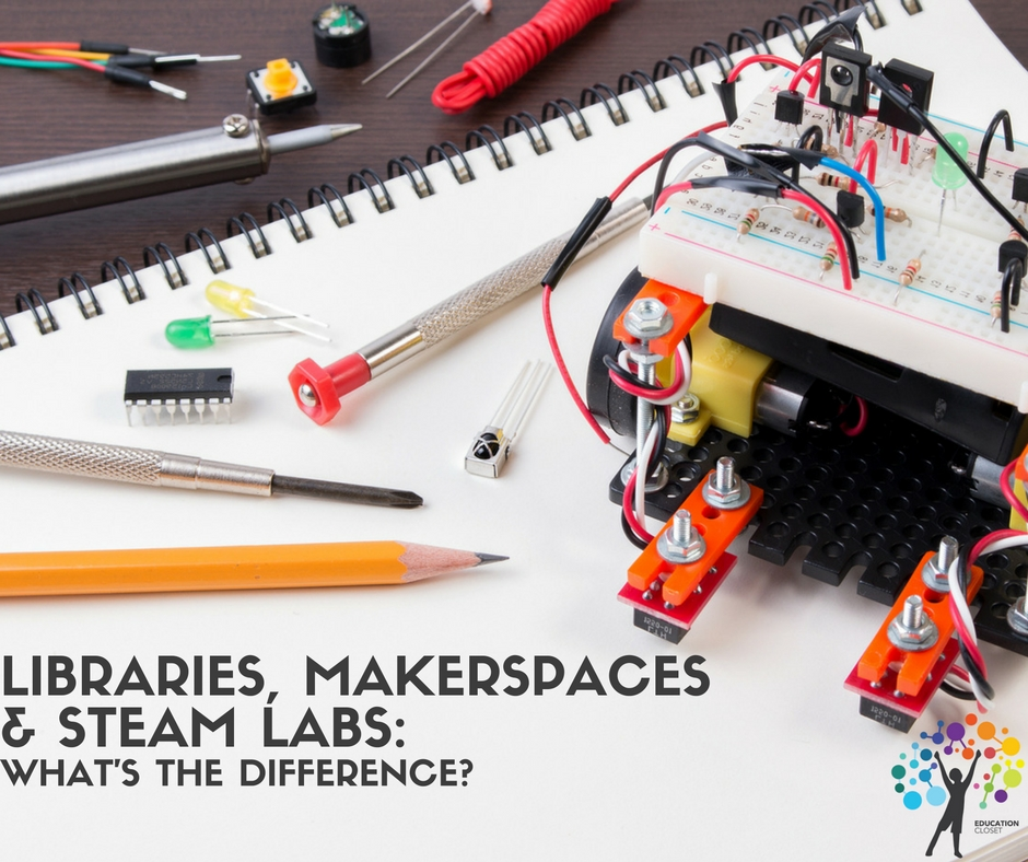 Makerspaces and STEAM Labs, Education Closet