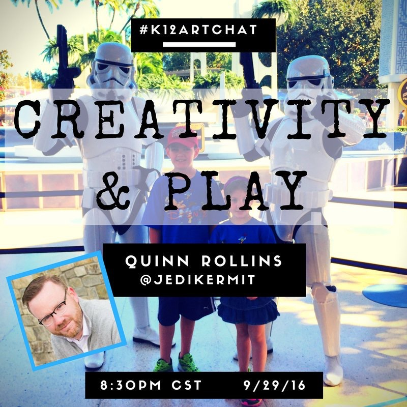 Creativity And Art of Play With Quinn Rollins | Education Closet