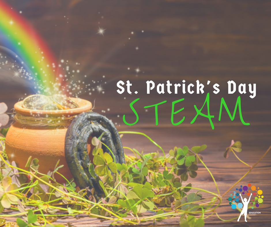 St. Patrick's Day STEAM Activity, EducationCloset
