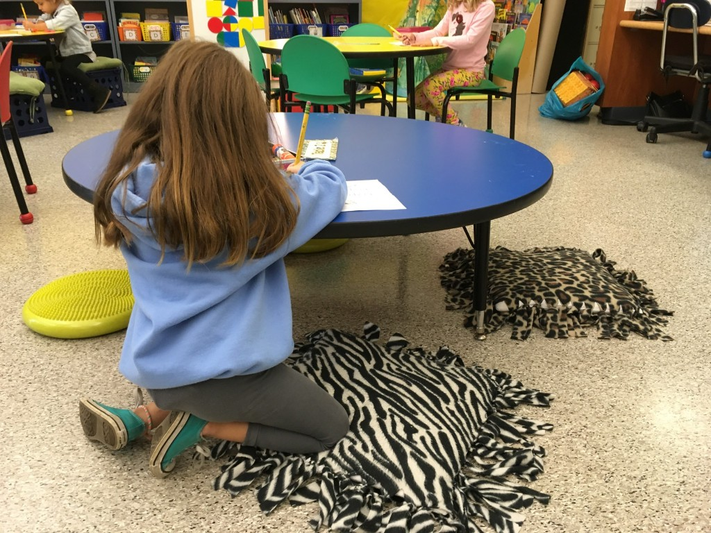 flexible seating ideas for students