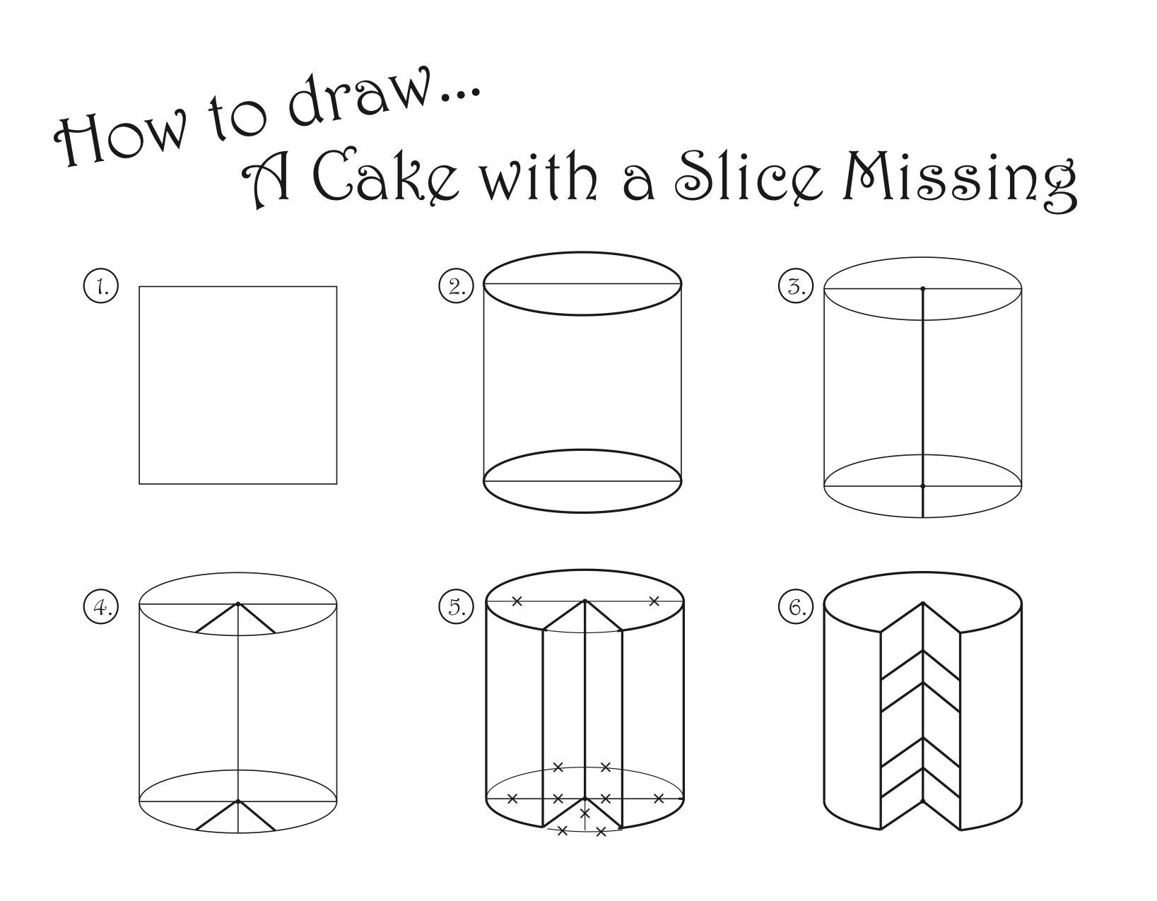 Wayne Thiebaud Lesson: Cakes! Visual Art and Math