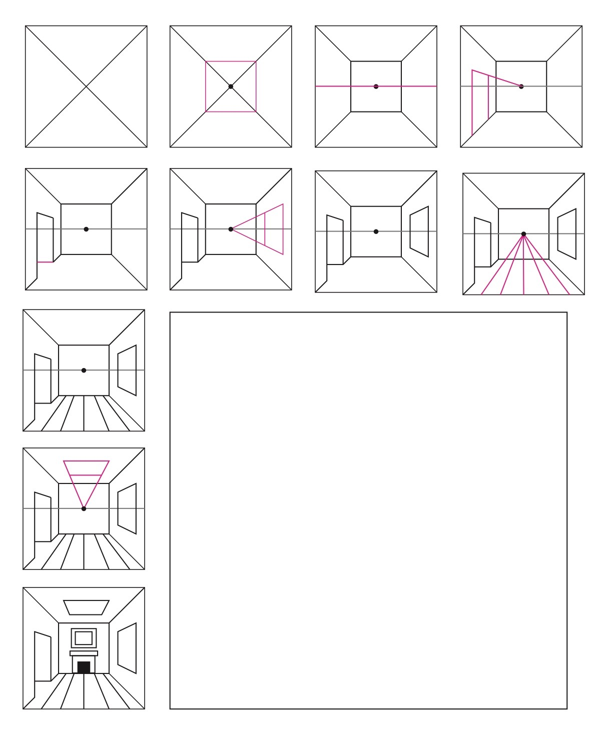 3 Ways to Teach 1 Point Perspective   The Institute for ...