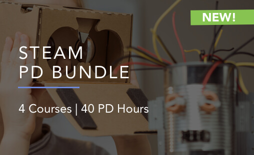 STEAM professional development bundle