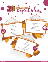 20 Bulletin Board Ideas