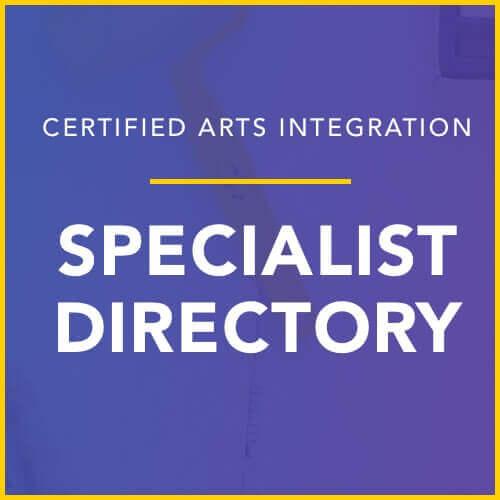 arts integration specialist directory