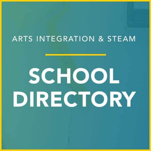 arts integration school directory