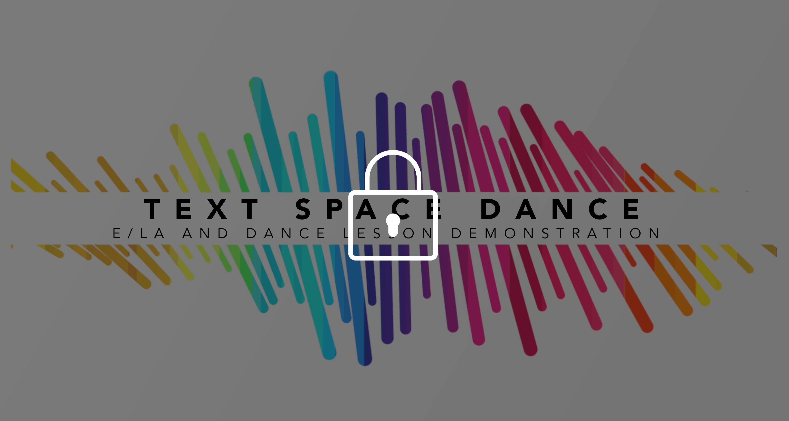 text space dance lesson video