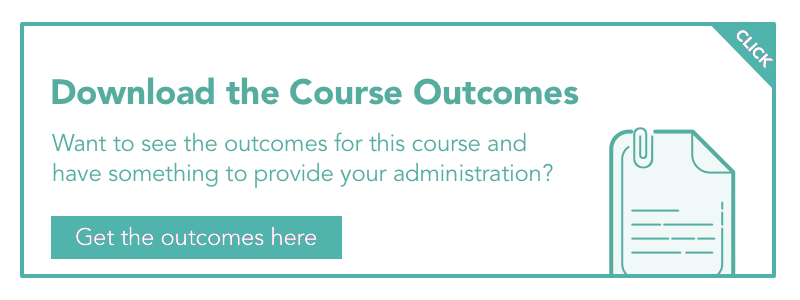 classroom management course outcomes