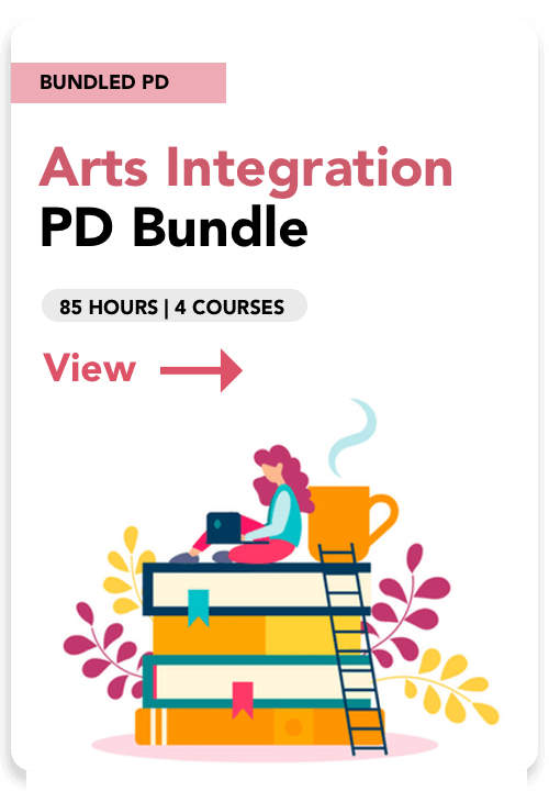 arts integration pd bundle