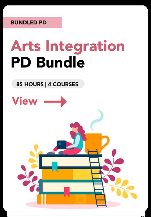 arts integration pd bundle