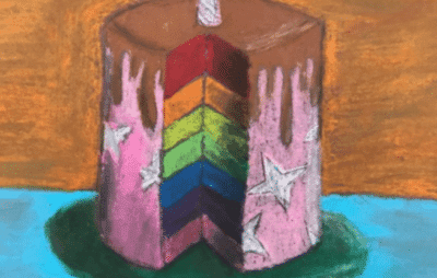 Wayne Thiebaud Cakes Lesson math and art