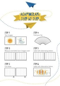 How to make agamographs with students