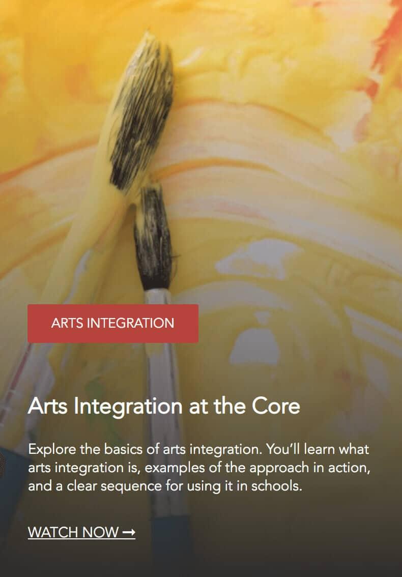 Arts Integration at the Core