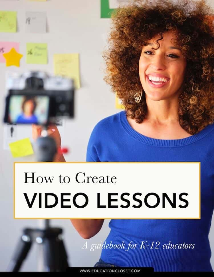 How to create a video lesson guidebook