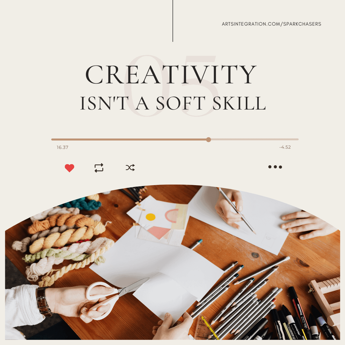 Creativity isn't a soft skill