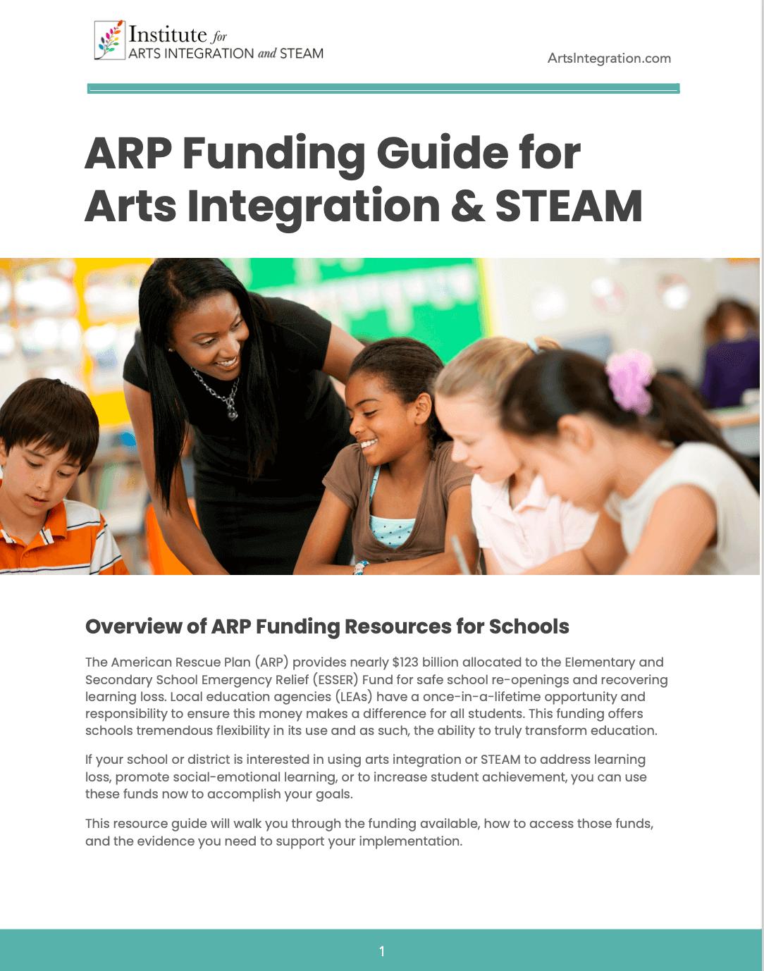 ARP funding guidebook
