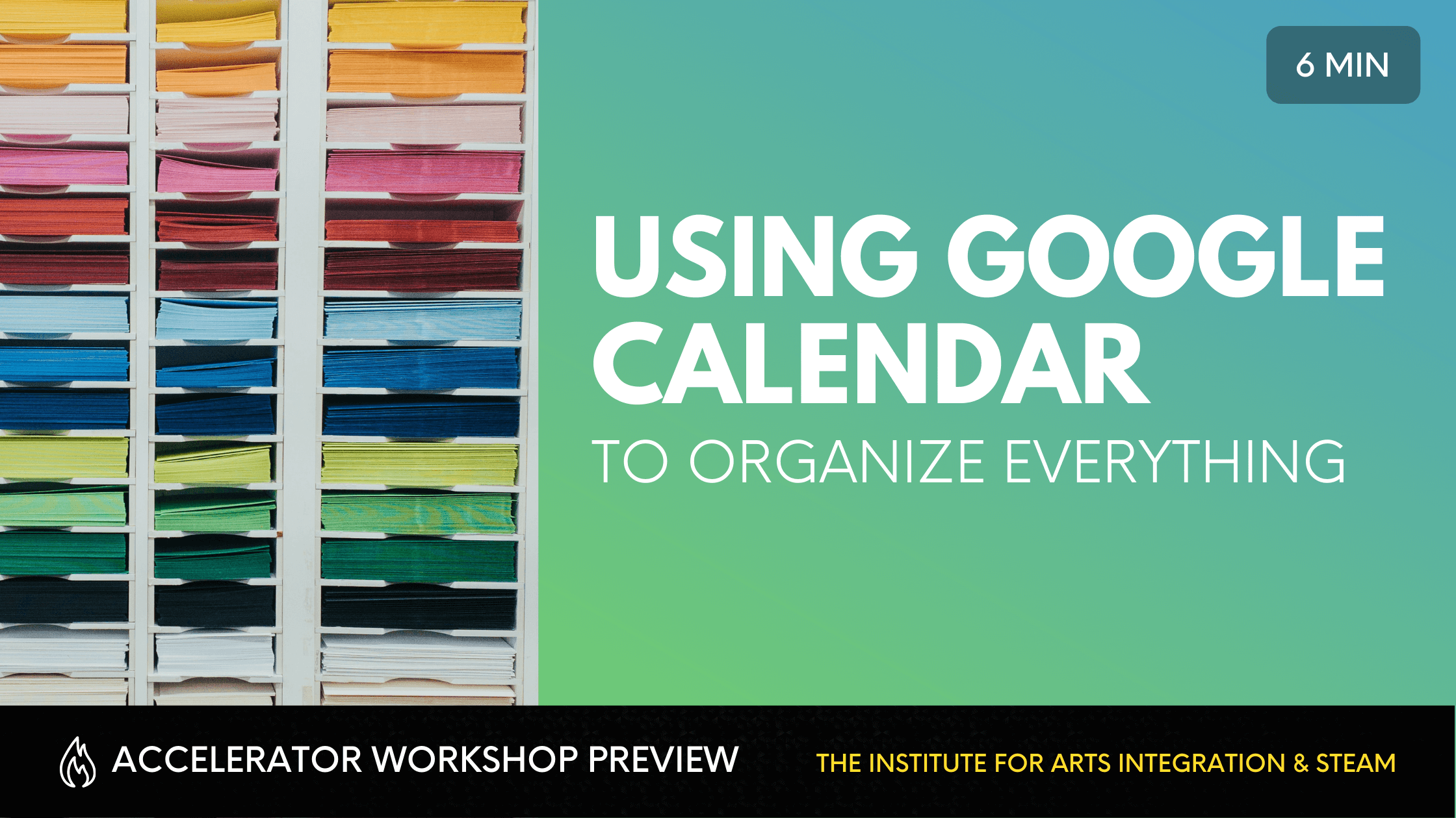 Using Google Calendar to Organize Your Lessons