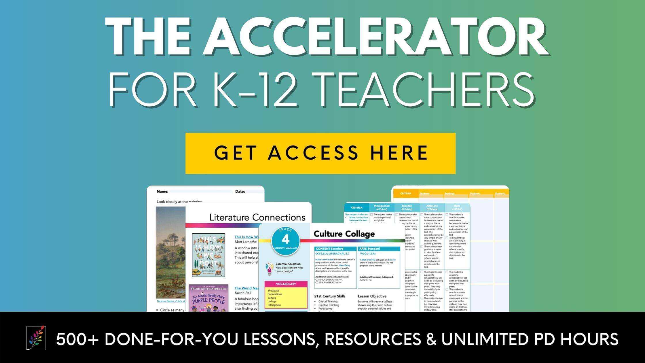 The Accelerator for K-12 Teachers